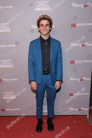 Jack Dylan Grazer. Noah Jupe attends the Hollywood Critics' Awards at the Taglyan complex on in Los Angeles