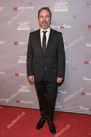 Stock Photo of Denis Villeneuve attends the Hollywood Critics' Awards at the Taglyan complex on in Los Angeles