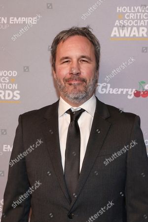 Denis Villeneuve attends the Hollywood Critics' Awards at the Taglyan complex on in Los Angeles