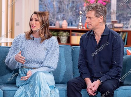 Luisa Zissman and Andrew Castle