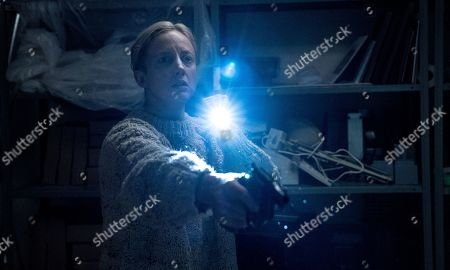 Stock Image of Andrea Riseborough as Detective Muldoon