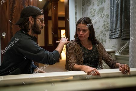 Nicolas Pesce Director and Tara Westwood as Fiona Landers