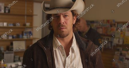 Stock Image of Christian Kane as Sheriff Corbin