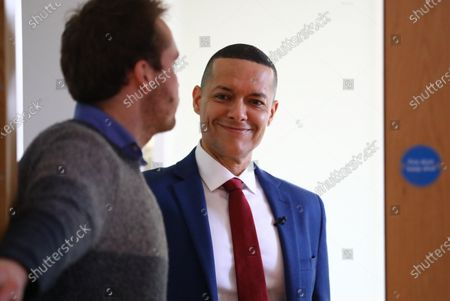 Clive Lewis at the Black Cultural Archives in Brixton to launch his campaign for Leader of the Labour Party