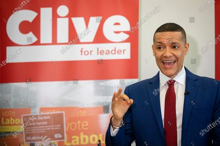 Clive Lewis speaking at the Black Cultural Archives in Brixton to launch his campaign for Leader of the Labour Party.