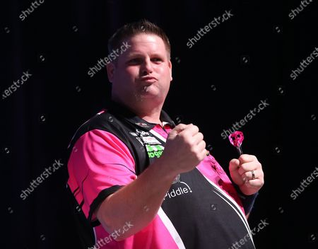 Scott Mitchell during the BDO World Professional Championships at the O2 Arena, London