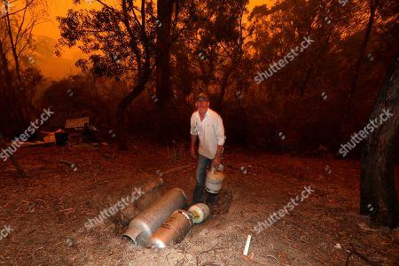 Editorial photo of Wildfires, Burragate, Australia - 10 Jan 2020