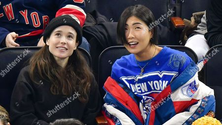 Editorial picture of Celebrities at New Jersey Devils v New York Rangers NHL Ice Hockey match, Madison Square Garden, New York, USA - 09 Jan 2020