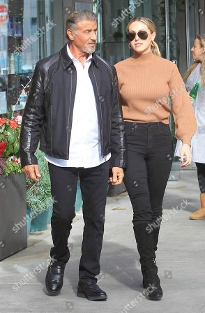 Editorial photo of Sylvester Stallone out and about, Los Angeles, USA - 09 Jan 2020
