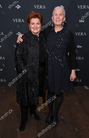 Stock Image of Brenda Blethyn and Ann Cleeves