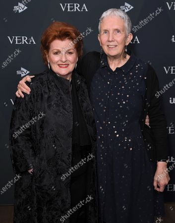 Stock Photo of Brenda Blethyn and Ann Cleeves