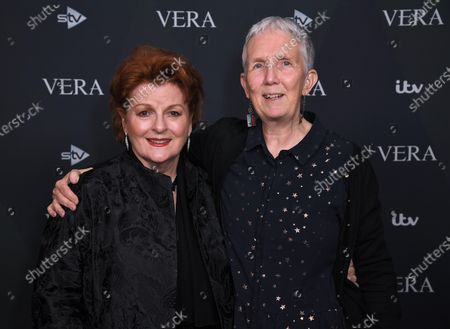 Brenda Blethyn and Ann Cleeves