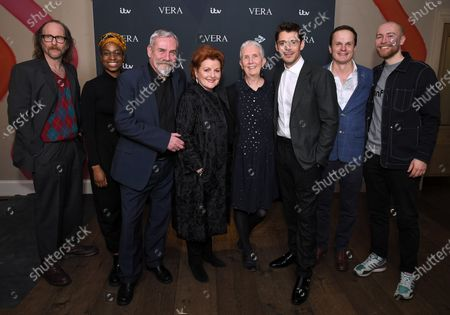 Paul Kaye, Ibinabo Jack, Jon Morrison, Brenda Blethyn, Ann Cleeves, Kenny Doughty, Phil Hunter and Riley Jones