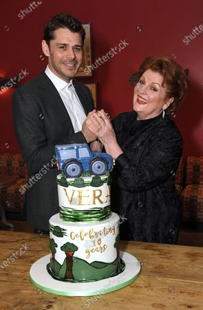 Brenda Blethyn and Kenny Doughty