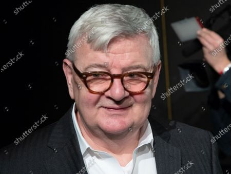Stock Picture of Former German Foreign Minister and Vice Chancellor and current member of the Alliance90/The Greens party (Buendnis90/Die Gruenen) Joschka Fischer attends the anniversary celebrations marking 30 and 40 years to the ALLIANCE 90/THE GREENS political parties, in Berlin, Germany, 10 January, 2020. The event celebrates 40 years to the German Green party (DIE GRUENEN) and 30 years to its former east German (GDR) sister party ALLIANCE 90 (BUENDIS 90).