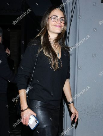 Editorial photo of Jordana Brewster out and about, Los Angeles, USA - 10 Jan 2020