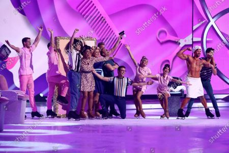 Editorial image of 'Dancing On Ice' TV show, Series 12, Episode 2, Hertfordshire, UK - 12 Jan 2020