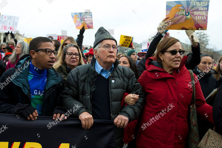 Actor Martin Sheen demonstrates during Fonda-Fire Drill Fridays rally, calling on Congress for action to address climate change on Capitol Hill in Washington, . A half-century after throwing her attention-getting celebrity status into Vietnam War protests, Fonda is now doing the same in a U.S. climate movement where the average age is 18