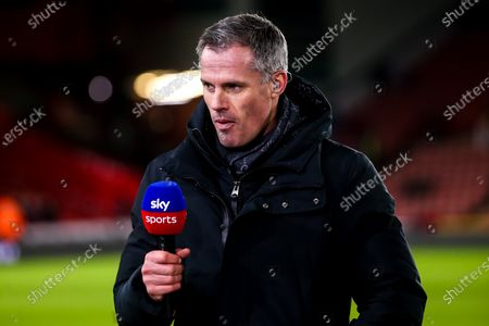 Former Liverpool player and Sky Sports pundit Jamie Carragher