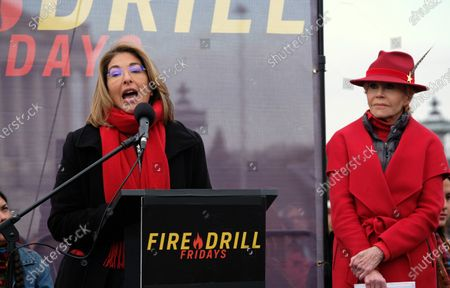 Editorial image of Fire Drill Friday climate change rally, Washington DC, USA - 10 Jan 2020