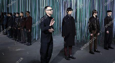 Editorial picture of Ermenegildo Zegna - Runway - Milan Fashion Week Men's F/W 2020/21, Italy - 10 Jan 2020