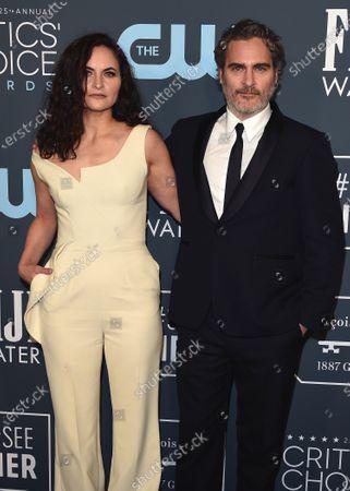 Rain Phoenix and Joaquin Phoenix