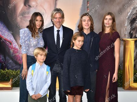 Stephen Gaghan, Minnie Mortimer and family