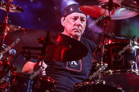 Neil Peart, Rush. Neil Peart of Rush performing during the final show of the R40 Tour in Los Angeles. Peart, the renowned drummer and lyricist from the band Rush, has died. His rep Elliot Mintz said in a statement Friday that he died at his home in Santa Monica, Calif. He was 67