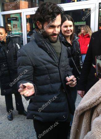 Stock Picture of Penn Badgley