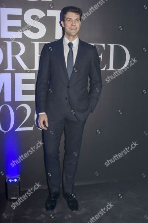 Editorial photo of GQ Best Dressed Men 2020 event, Autumn Winter 2020, Milan Fashion Week Men's, Italy - 10 Jan 2020