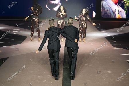 Editorial picture of Dsquared2 show, Runway, Autumn Winter 2020, Milan Fashion Week Men's, Italy - 10 Jan 2020