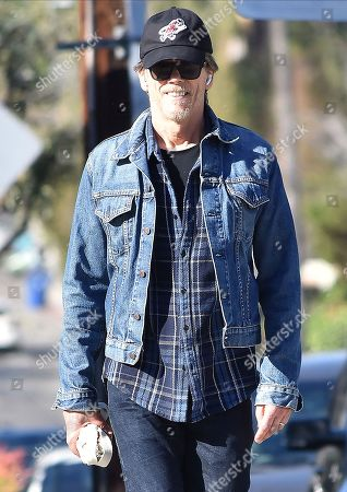 Editorial image of Kevin Bacon out and about, Los Angeles, USA - 10 Jan 2020