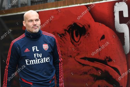 Stock Picture of Arsenal's assistant manager Freddie Ljungberg arrives ahead of the English Premier League soccer match between Crystal Palace and Arsenal held at Selhurst park in London, Britain, 11 January.