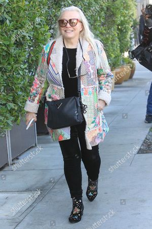 Editorial image of Jacki Weaver out and about, Los Angeles, USA - 10 Jan 2020