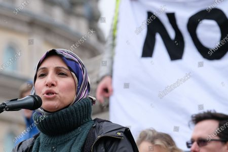 Editorial picture of Don't Attack Iran protest, London, UK. - 11 Jan 2020