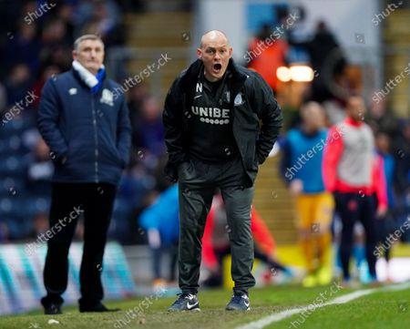 Preston North End Manager Alex Neil