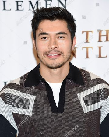 """Henry Golding participates in """"The Gentlemen"""" cast photo call at The Whitby Hotel, in New York"""