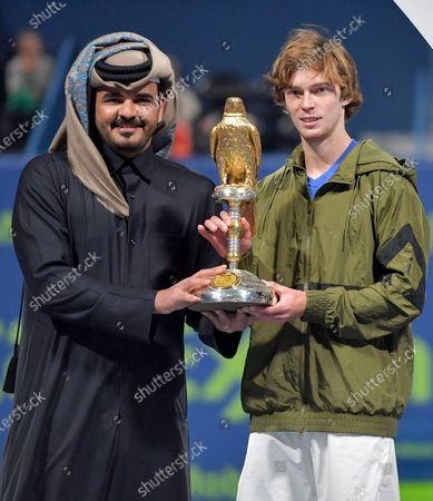 Editorial picture of Qatar Open tennis tournament, Doha - 11 Jan 2020