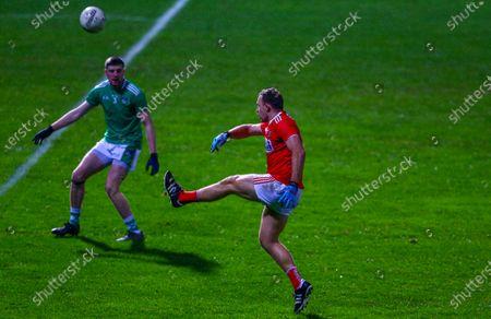 Cork vs Limerick. Cork's Ciaran Sheehan shoots on goal