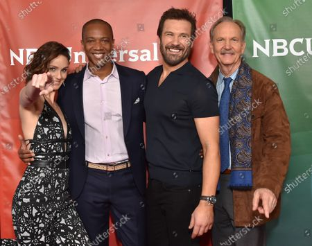 Stock Image of Sarah Wayne Callies, J. August Richards, Clive Standen and Michael O'Neill