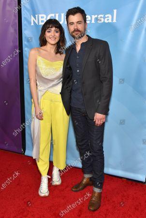Luna Blaise and Matt Long