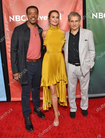 Russell Hornsby, Arielle Kebbel and Michael Imperioli