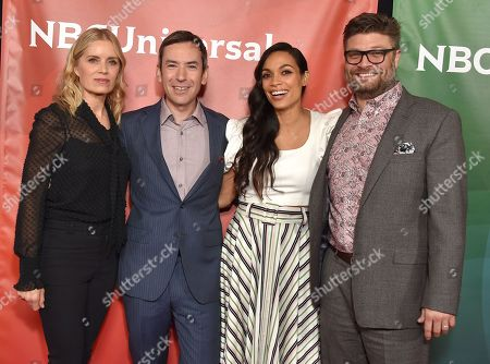 Stock Picture of Kim Dickens, Andy Greenwald, Rosario Dawson and Jay R Ferguson