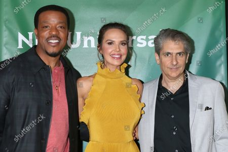 Russell Hornsby, Arielle Kebbel, and Michael Imperioli