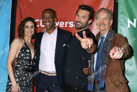 Stock Photo of Sarah Wayne Callies, J. August Richards, Clive Standen and Michael O'Neill