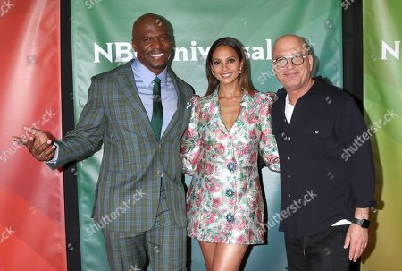 Stock Picture of Terry Crews, Alesha Dixon and Howie Mandel