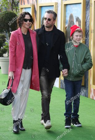 Stock Picture of Addison O'Dea, Minnie Driver and Henry Driver