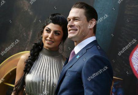 Shay Shariatzadeh and John Cena