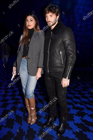 Stock Picture of Belen Rodriguez and Stefano De Martino