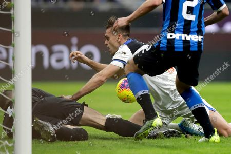 Editorial photo of Soccer Serie A, Milan, Italy - 11 Jan 2020